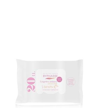 Picture of Byphasse Sensitive Douceur Intimate Wipes 20wipes.