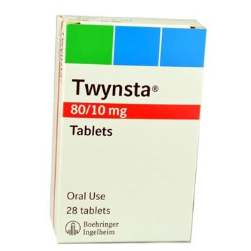 Picture of Twynsta 80/10mg 28tablets
