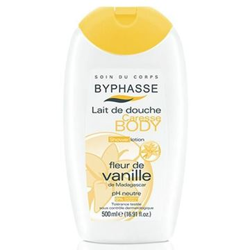 Picture of Byphasse Caresse Shower Cream Vanilla Flower 500ml