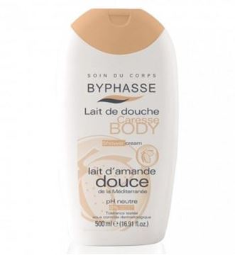 Picture of Byphasse Caresse Shower Cream Sweet Almond Oil 500ml