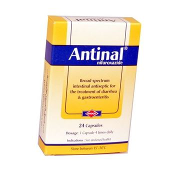 Picture of Antinal  200 mg 24CAP