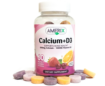 Picture of Amerix Calcium +D3 60 Gummy