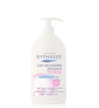 Picture of Byphasse Baby Cleansing Lotion Face And Body 500ml
