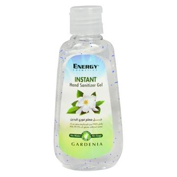 Picture of Energy Instant Hand Sanitizer Gel Gardenia with Beads