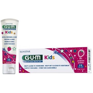 Picture of GUM Kids Toothpaste Strawberry Flavour