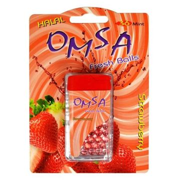 Picture of Omsa Fresh Balls Strawberry Flavour