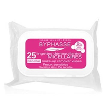 Picture of Byphasse Make-up Remover Wipes Micellar Solution