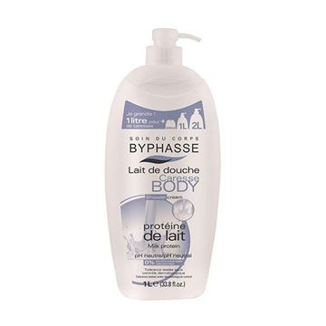 Picture of Byphasse Caresse Shower Cream Milk Protein 1L