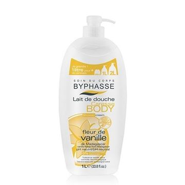 Picture of Byphasse Body Shower Cream Vanille 1L