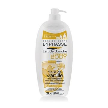 Picture of Byphasse Caresse Shower Cream Vanilla Flower 2L