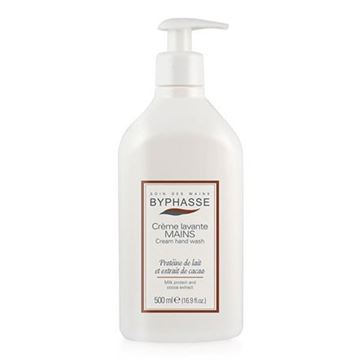 Picture of Byphasse Liquid Cream Hand Wash Milk And Cocoa 500ml
