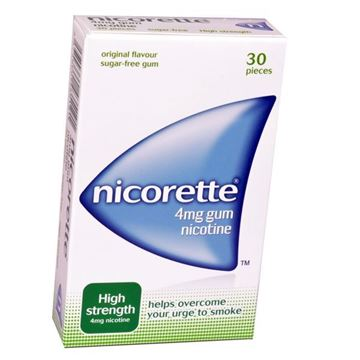 Picture of Nicorette Gum 4 mg