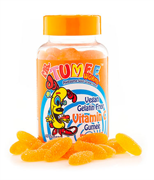 Picture of Mr.Tumee Worms Vitamin C Awesome Sour Orange Flavour