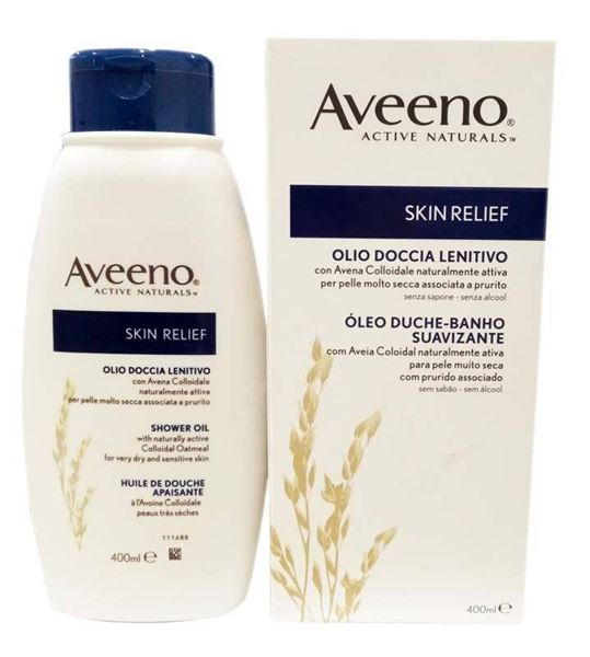 Picture of Aveeno Skin Relief Shower Oil 400ml