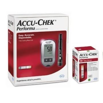Picture of Accu-Chek Performa + 50 Strip mmo (OFFER)