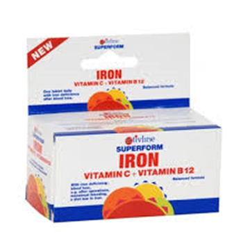 Picture of Activeline Superform Iron+vit.C+B12