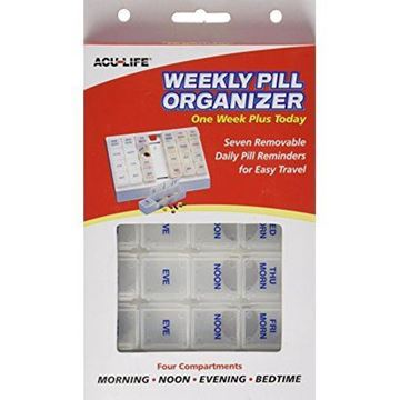 Picture of Weekly Pill Organizer One Week Plus Today