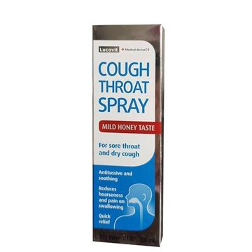 Picture of Lucovit Cough Throat Spray 20ml