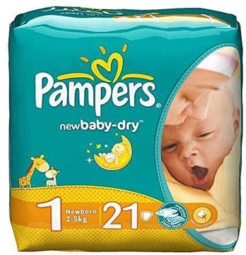 Picture of Pampers new born 1
