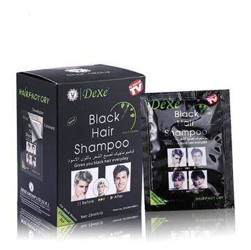 Picture of Dexe Black Hair Shampoo Classical Set .