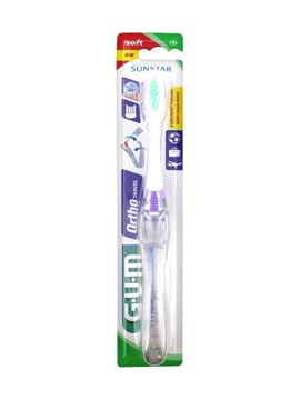 Picture of Gum Ortho Travel Toothbrush soft 125