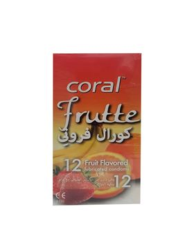 Picture of Coral Latex Condom Frutte 12Pcs