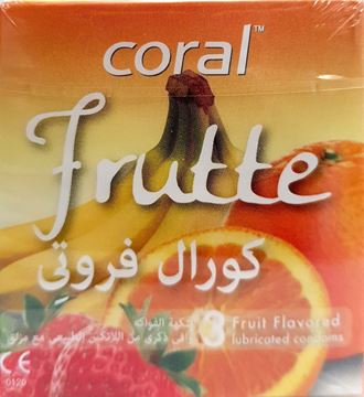 Picture of Coral Condom Frutte 3Pcs