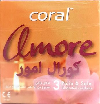 Picture of Coral Condom Amore 3Pcs