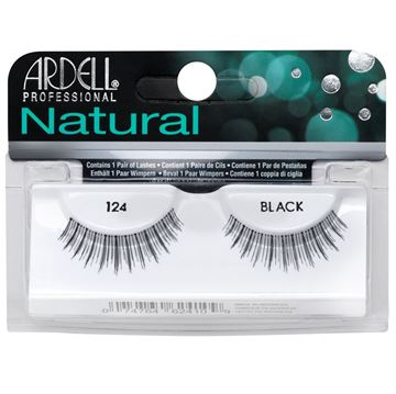 Picture of Ardell Eyelash Natural Lashes 124 Black