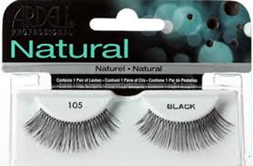 Picture of Ardell Eyelash Natural Lashes 105 Black