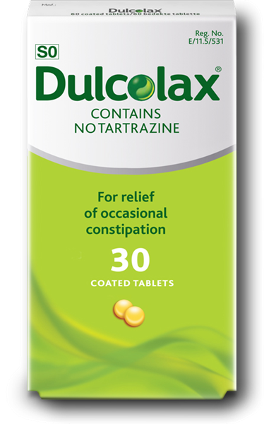 Picture of Dulcolax 5mg 30 Tablets