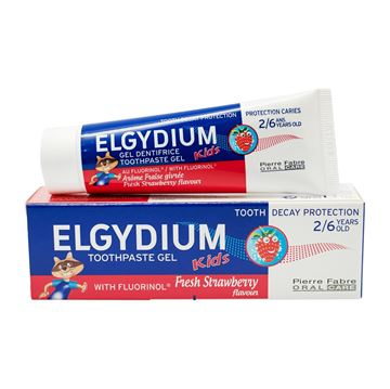 Picture of Elgydium Kids Toothpaste Fresh Strawberry 50ml