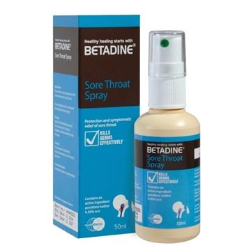 Picture of Betadine Throat Spray 50ml