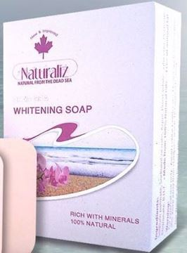 Picture of Naturaliz Dead Sea Whitening Soap