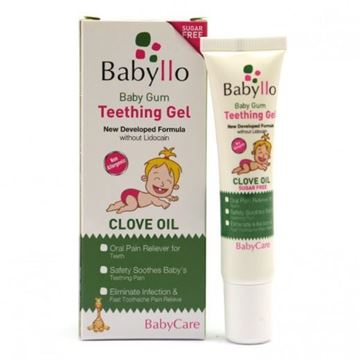 Picture of Babyllo Teething Gel Clove Oil 15 ml