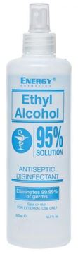 Picture of Energy Ethyl Alcohol 95% Solution 500ml