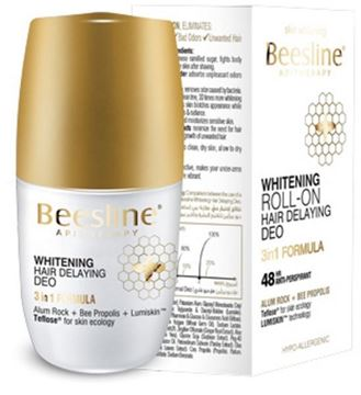 Picture of Beesline Deo Roll On Whitening & Hair Delaying 50ml