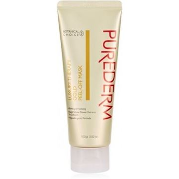 Picture of Purederm Luxury Therapy Gold Peel Off Face Mask 100g