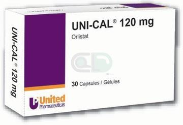 Picture of Uni-Cal 120mg 30 Capsules