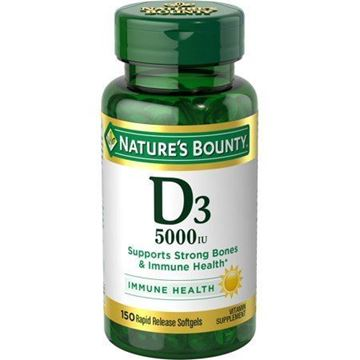 Picture of Nature's Bounty D3 5000IU 150softgels