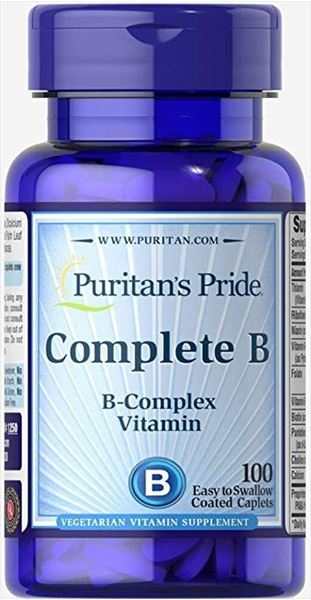 Picture of Puritan's Pride Complete B 100 tab