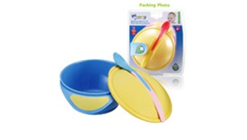 Picture of Momeasy Weaning Bowl With Heat Sensing Spoon .