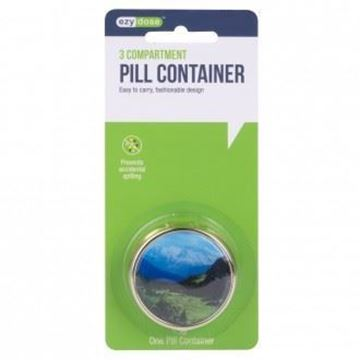 Picture of Ezy Dose 3 Compartment Pill Container