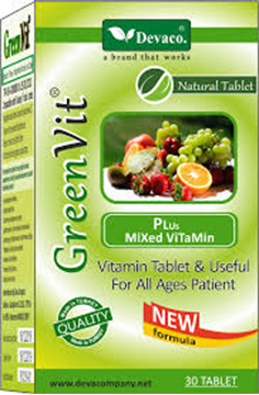 Picture of Green Vit 30 Tablets