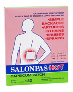 Picture of Salonpas Hot Patch