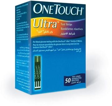 Picture of OneTouch Ultra 50 strips