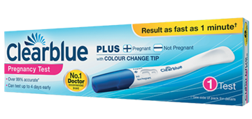 Picture of ClearBlue Pregnancy Test Single