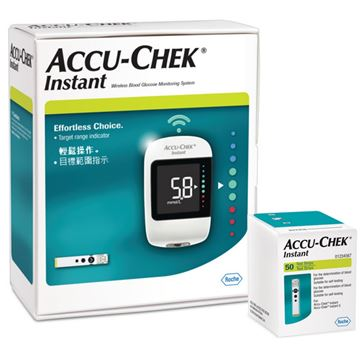 Picture of Accu-Chek Instant mmol/l +50 Strips