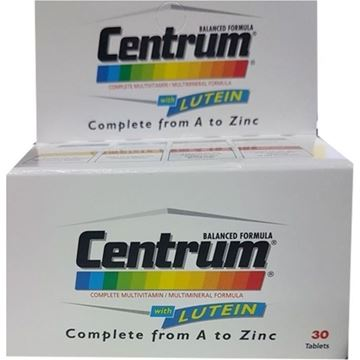 Picture of Centrum With Lutein 30 Tabs