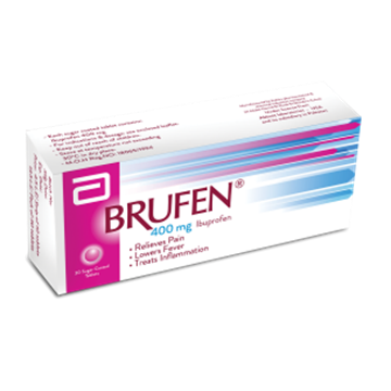 Picture of Brufen Tablets 400mg